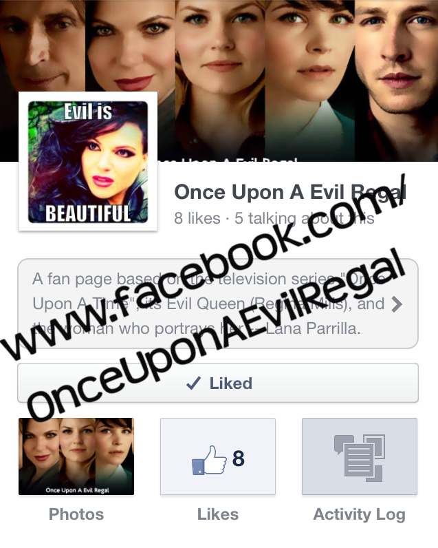 Once Upon A Evil Regal