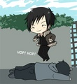 Orihara Izaya - chibi photo