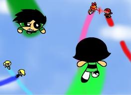 The Powerpuff Girls wallpaper entitled PPG