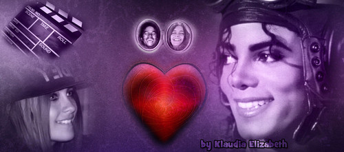 Paris , Blanket Jackson and their Dad Michael Jackson