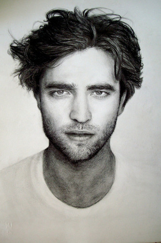 Pencil Drawings of Rob