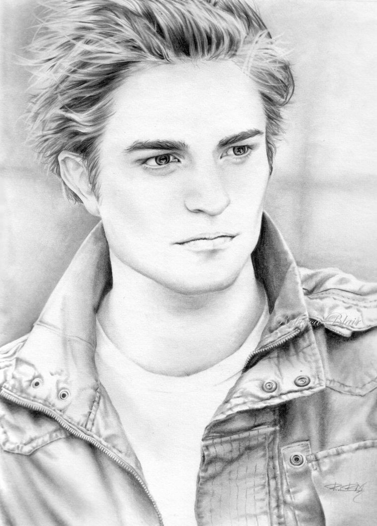 Pencil Drawings of Rob