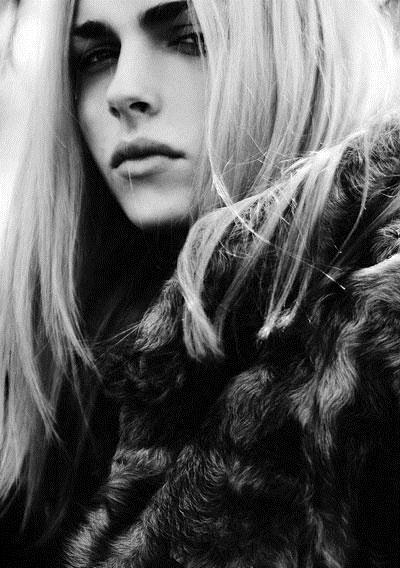 Portrait Andrej Pejic S/S 10