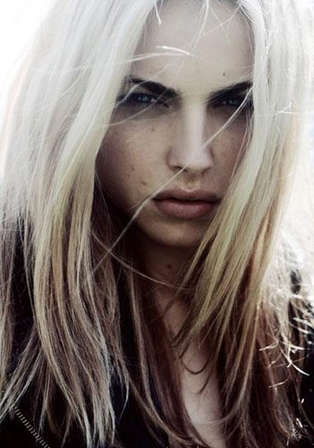 andrej pejic wallpaper containing a portrait called Portrait Andrej Pejic S/S 10