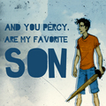 Poseidon's Favourite Son - the-heroes-of-olympus fan art