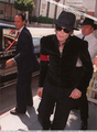 Princess Diana's Memorial Service Back In 1997 - michael-jackson photo