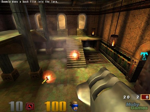 Video Games wallpaper with a street and a diner called Quake III: Arena screenshot