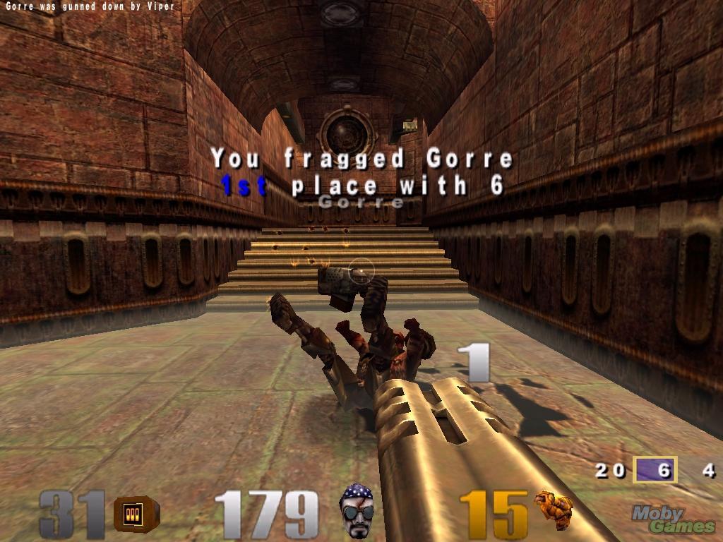 Игра Quake 3 Arena: вся информация об игре, дата