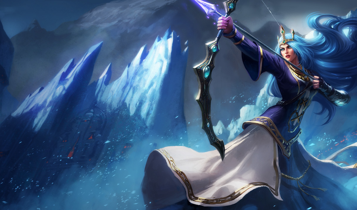 Queen Ashe - League of Legends Photo (34093749) - Fanpop
