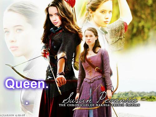 queen Susan of Narnia.