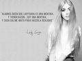 Quote in Spanish - lady-gaga wallpaper