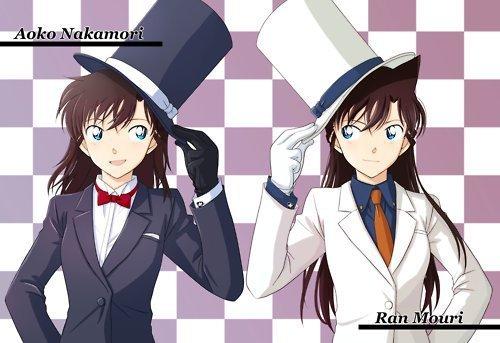 Ran and Aoko !!
