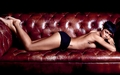 Rihanna for GQ on sofa - rihanna wallpaper