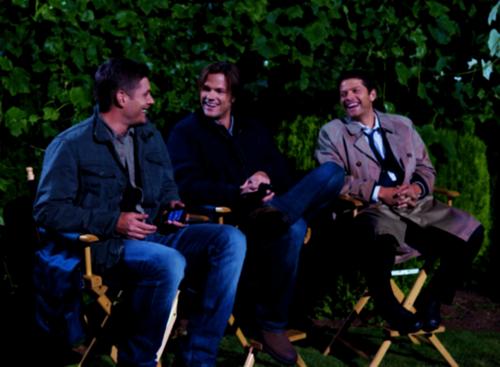 Supernatural wallpaper entitled Dean, Sam & Castiel