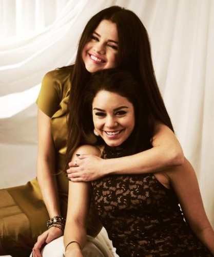Selena with Venessa