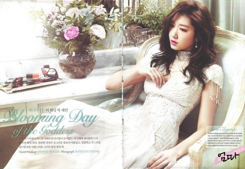Shin hye wedding photoshoot