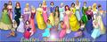 Sims 2 Disney Princess and Non Disney