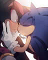 Sonadow. - sonic-yaoi photo