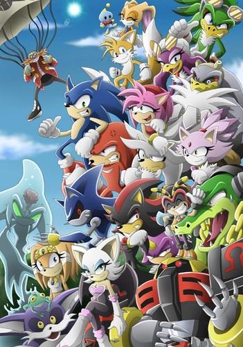 Sonic and Starfox