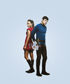 Spock &amp; Uhura - spock-and-uhura fan art