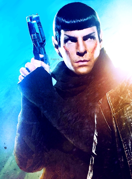 Zachary Quinto's Spock images Star Trek into darkness ...