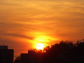 Sunrise in my city - photography photo
