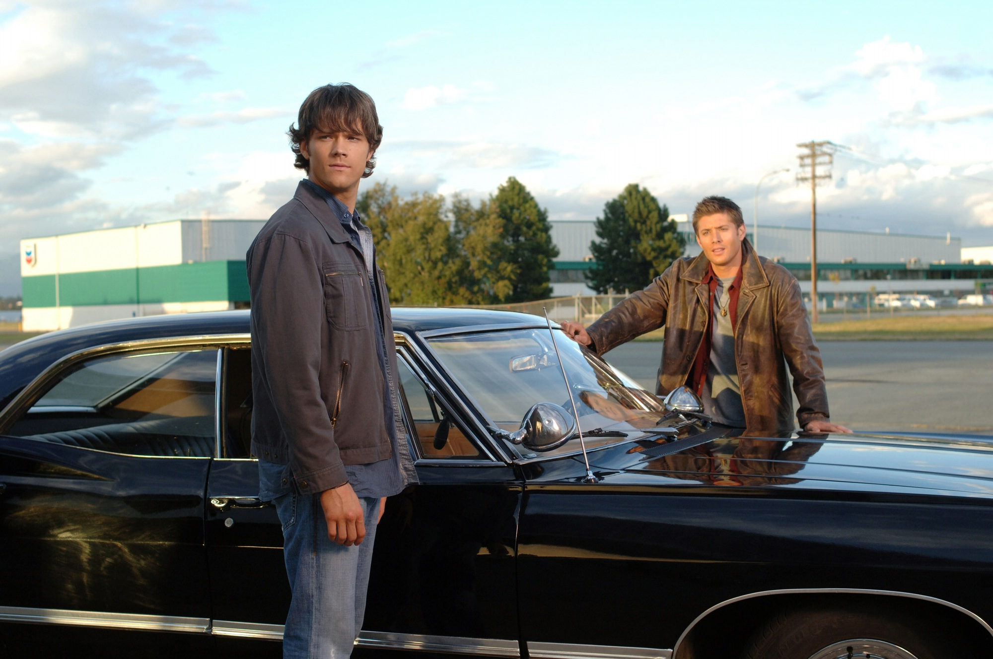 Supernatural Season 1 Jared Padalecki And Jensen Ackles