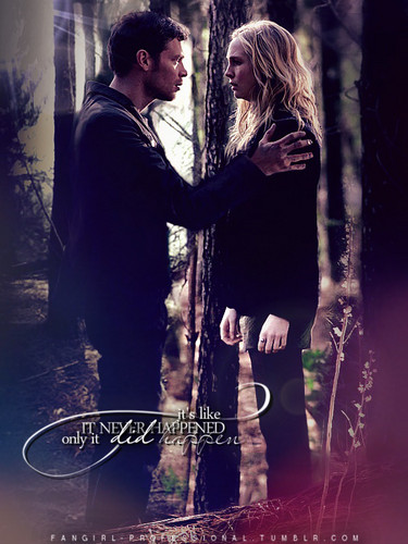 THE BIGGER PICTURE Klaus and Caroline 4x17