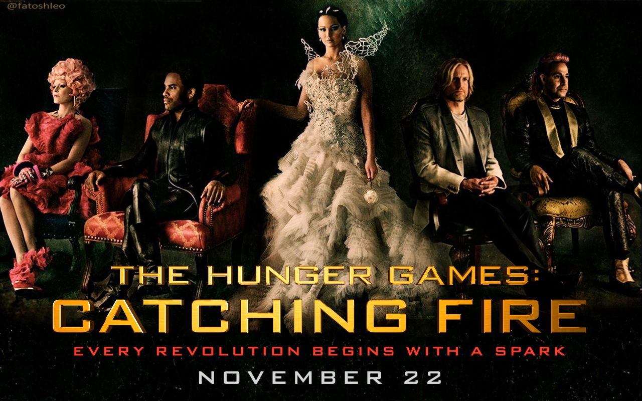 THG Catching Fire Wallpaper - The Hunger Games Wallpaper (34025924 ...
