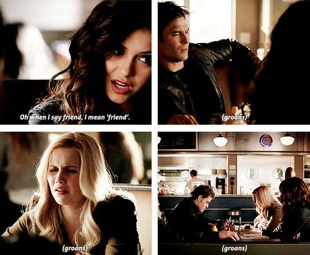 TVD 4X18 Rebekah, Stefan, Katherine & Damon