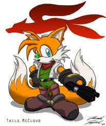 "Miles ""Tails"" Prower wallpaper probably containing anime entitled Tails the Star-Fox"