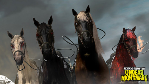 The Four Horses of the Apocalypze