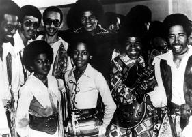 The Jackson 5 Backstage With The Commodores In The Early-70's