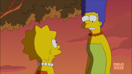 The Simpsons Shading