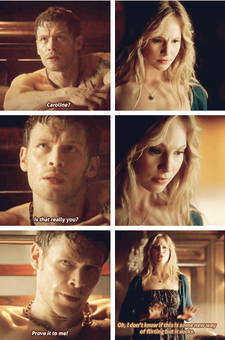Caroline And Klaus Tvd Quotes. QuotesGram