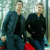 The Vampire Diaries-American Gothic-Damon and Stefan icon