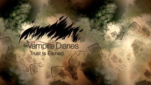 The Vampire Diaries kertas dinding Series