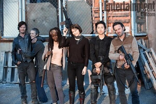 The Walking Dead Cast on EW