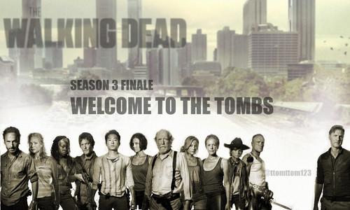 The Walking Dead Season 3 Finale Poster Cast
