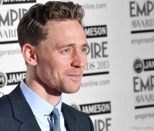 Tom at The Jameson Empire Awards 2013