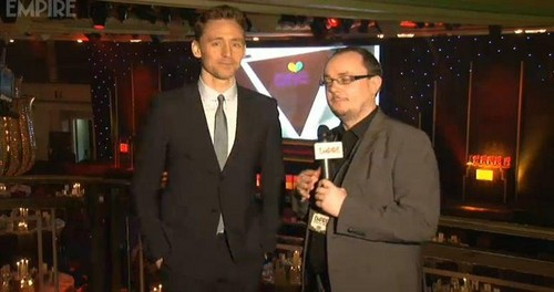Tom at The Jameson Empire Awards 2013