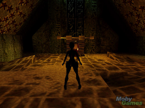 Tomb Raider wallpaper containing a portcullis titled Tomb Raider: The Last Revelation screenshot