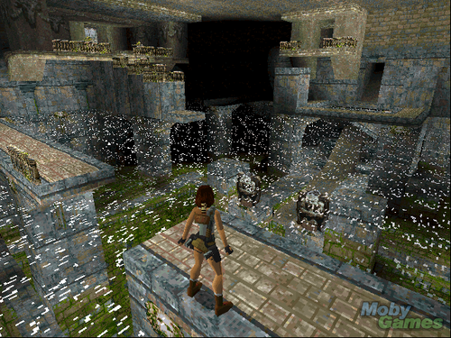 Tomb Raider wallpaper possibly containing a portcullis and a street called Tomb Raider screenshot