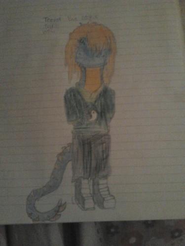 Trevor the raptor