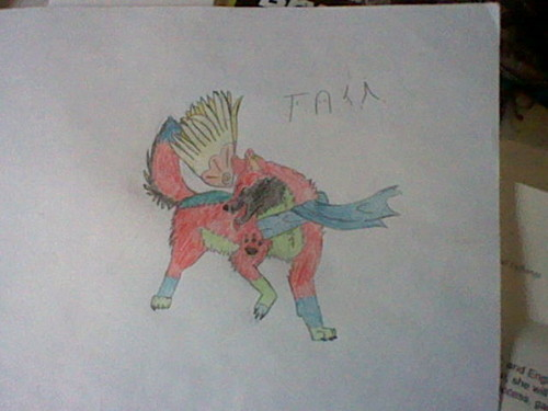 Tuka (me as a wolf)