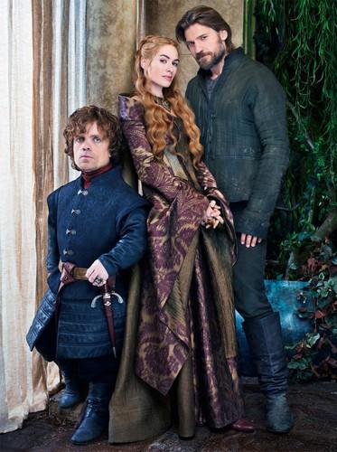 Tyrion, Cersei & Jaime Lannister
