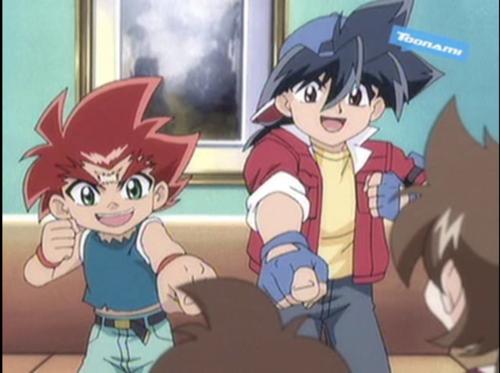Tyson and Daichi