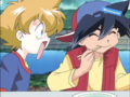 Tyson and Max - beyblade photo