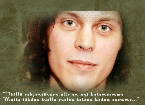 Ville Valo fond d'écran called Ville fan art
