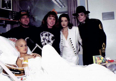 Visiting St. Jude's Hospital Back In 1994